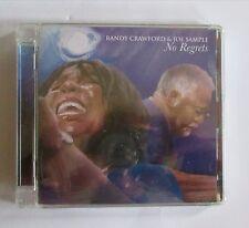 # RANDY CRAWFORD & JOE SAMPLE - NO REGRETS  -   CD  NUOVO E SIGILLATO