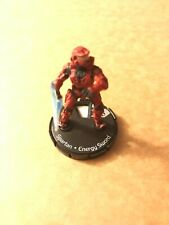 Halo ActionClix #067 Red SPARTAN Energy Sword Rare