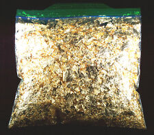 1 TROY OUNCE GOLD LEAF FLAKES 100% SATISFACTION OR MONEY BACK FREE SHIPPING
