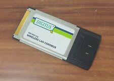 PCMCIA Notebook Wlan Karte Wireless Digitus DN-7001GS 11 Mbps 802.11g