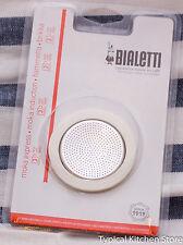 Bialetti Moka Express 3 Cup Seal Filter Kit Coffee Replacement Fiammetta