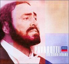 Pavarotti: The Studio Albums (CD, Nov-2007, 12 Discs, Decca)