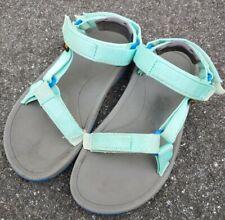 Girls TEVA Hurricane Sport Sandals Size Kids Youth 3 Teal