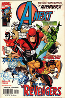 A-Next Vol 1 #12 (Signed by Ron Frenz) Marvel Comics 1999 FN/VF