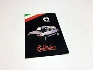 1984 Innocenti 3 Brochure