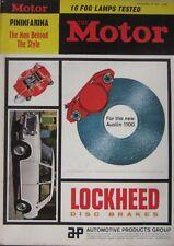 Motor magazine 27/11/1963 featuring Hillman Husky road test