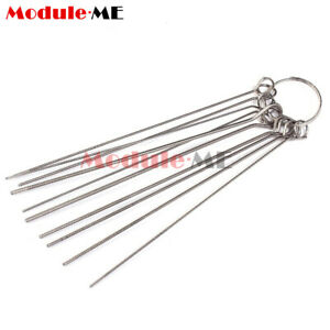 10 Kinds Stainless Steel Needle Set Circuit Through Hole Needle Weld Repair Tool