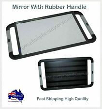 Hairdressing Mirror with Rubber Handle for Hair Make Up Beauty Salon