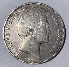 GERMANY BAVARIA SILVER 1 GULDEN 1843