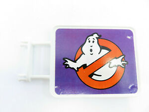 Vintage 1987 Kenner The Real Ghostbusters Fire House Headquarters Sign Stickers