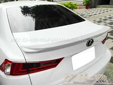 Lexus IS250 IS350 IS F Sport F Look Rear Trunk Spoiler Lip 2014 Custom Painted