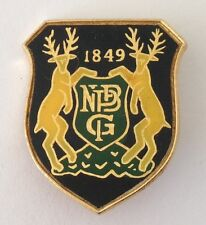 PNBG 1849 Bowling Club Badge Pin Deer Design Rare Vintage (M22)