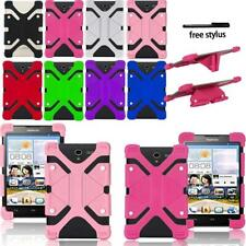 Shockproof Silicone Stand Cover Case For Huawei Honor / MediaPad Tablet + Stylus