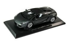 LAMBORGHINI GALLARDO 1/18 LP 560-4 DIE CAST GREY BY NOREV 187961