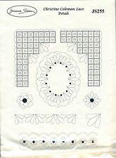 Joanna Sheen / Christine Coleman - Rubber Stamps - Lace Petals - JS255