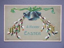 R&L Postcard: Art Design, Easter Flower Design Embossed
