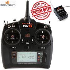 Spektrum DX6 6-Channel 6CH DSMX Transmitter Mode 2 SPMR6700 FREE Receiver AR610