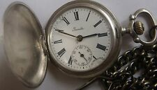 VERY RARE-INVICTA-SWISS POCKET WATCH SILVER 0,800