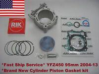 2004-09 & 12-13 Yamaha YFZ 450 Std Bore 95mm Cylinder Piston Gasket kit 11.4:1