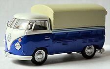 VW Volkswagen T1 Camion à benne Pick-Up Bâche De Camion À Plat 1951-67 bleu &