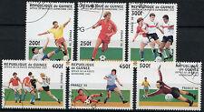 Guinea 1997 SG#1719-1724 World Cup Football Cto Used Set #A92726
