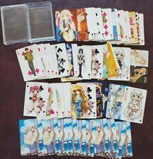 Chobits Anime Manga Playing Card Poker Deck Great Condition See Pics