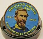 Civil War Confederate General Braxton Bragg Colorized 2012 Kennedy Half Dollar  for sale