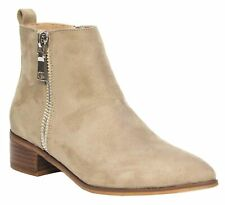New Therapy Shoes FELTON TAUPE SUEDE - Womens CASUAL BOOT