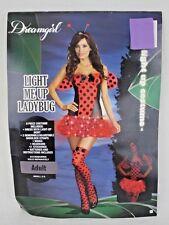 Ladybug Halloween Costume Adult Ladies Women Pretend Fantasy Sz S 2-6