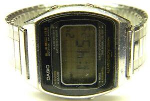 mens 1980 Casio Universal Calendar Chronograph Digital Lcd watch 79QS-39 parts