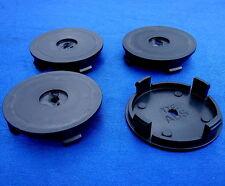(TTE) 4x Nabenkappen Nabendeckel Felgendeckel Träger 56,0 / 52,5 mm schwarz