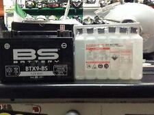 Batería BS YTX9-BS ARRANQUE ELÉCTRICO YAMAHA XT600E