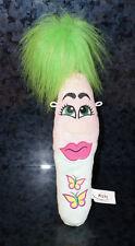 """12"""" Huge KOOKY PLUSH PRESHUS Pink Girl Butterfly Doll Stuffed Animal Pen Toy Kid"""