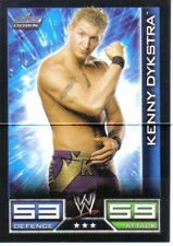 WWE Slam Attax - Kenny Dykstra Smackdown Trading Card