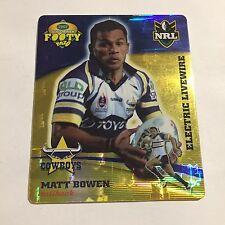 NRL Tazo North Queensland Cowboys Matt Bowen
