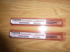 Metcal STTC-844 Chisel High Power Soldering Tip NEW SET OF 2