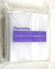 "100 Zippit Ziplock BAGS 6x9 CLEAR 2MIL POLY RECLOSABLE BAG 6"" x 9"" ZIP LOCK"