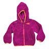 The North Face Girls 2T Magenta Fleece Full Zip Hooded Jacket