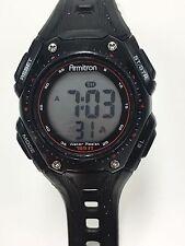 Working Ladies Black Armitron Sports Digital Watch (Model 45/7039) BO
