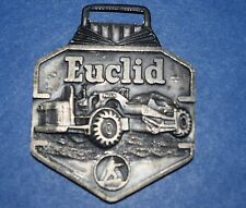 AW-080 - Euclid Scraper Construction Equipment Advertising Watch Fob Vintage