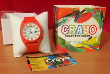 Crayo Women's 'Sunset' Quartz Metal and Silicone Watch, ColorCR3307