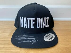 Nate Diaz 209 Signed Autographed Hat UFC 263 Diaz Brothers Stockton plus extra