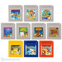 GameBoy Classic - Top Spiele (Pokemon, Super Mario Land, Tetris usw.) (Modul)