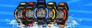 Kids Children's Boys Girls Child Quartz Sport Alarm Wrist Waterproof Watch Gift