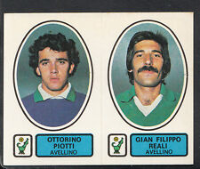 PANINI CALCIATORI FOOTBALL Adesivo 1977-78, N. 363-AVELLINO-OTTORINO PIOTTI