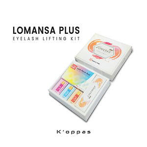 Official LOMANSA PLUS EYELASH PERMING LIFTING KIT Korea Cosmetic K Beauty
