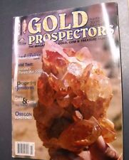 GOLD PROSPECTORS MAGAZINE SEP/OCT 2009 OREGON SUN STONES GOLD & GEMS IN THE HILL