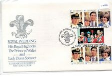 GUERNSEY - FIRST DAY COVER - FDC -1416- 1981  ROYAL WEDDING