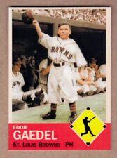 Eddie Gaedel '51 St. Louis Browns midget Monarch Corona Diamond Collection #18