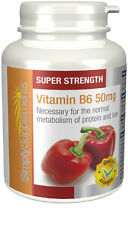 Vitamin B6 50mg 360 Tablets | Hormones | Mood | Energy | Nervous System